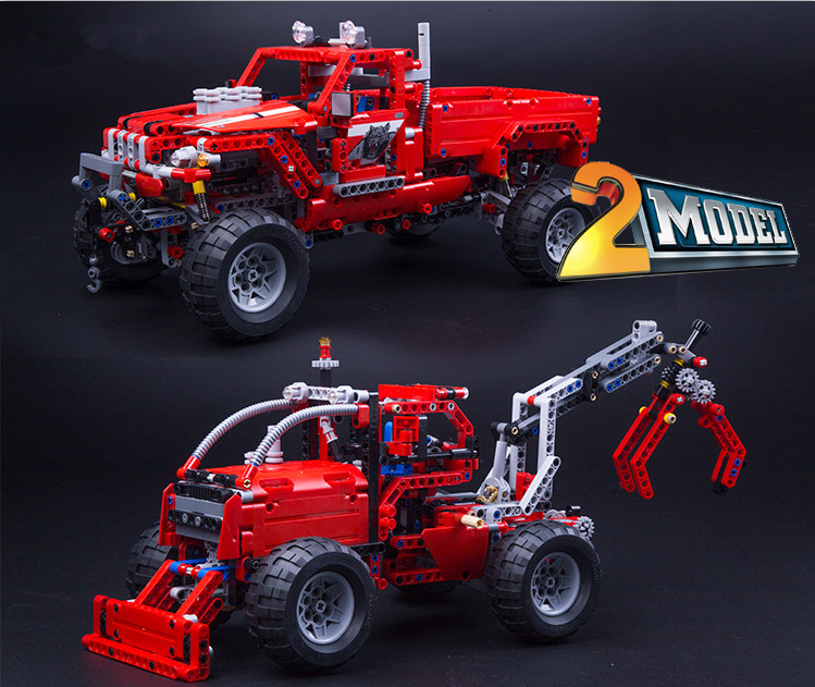 Decool 3362 сделайте Палочки-Up Камион Building Block briques Жуэ GARCON Jeu Modele де VOITURE Совместимость АВЭК 42029