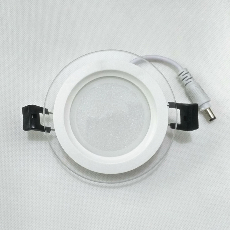SPLEVISI Dimmable 6W 12W 18W LED Panel Downlight Round Glass Glass - Ներքին լուսավորություն - Լուսանկար 5