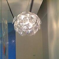 Modern Hope Pendant Lamps Acrylic Lampshade Pendant lights Led E27 suspension Indoor Lighting Bedroom Hanglamp Kitchen Fixtures