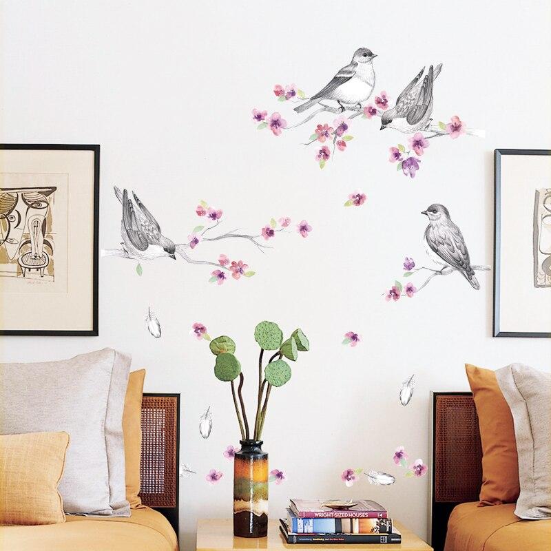 Passer du temps tranquille Sticker Autocollant Maison/Magasin Décor DIY Amovible Art Vinyl Mural Pour Chambre D'enfants/maternelle/Salon QTM299
