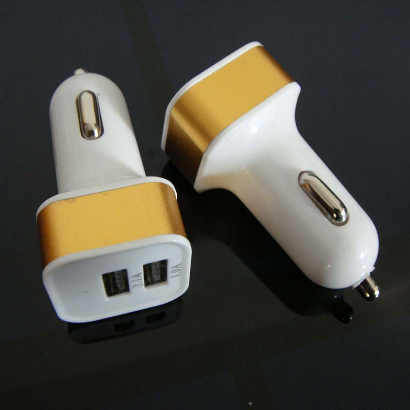 Vysoce kvalitní USB nabíječka do auta, mobilní telefon pro iPod Mobilní nabíječka do auta, doprava zdarma 20ks / lot