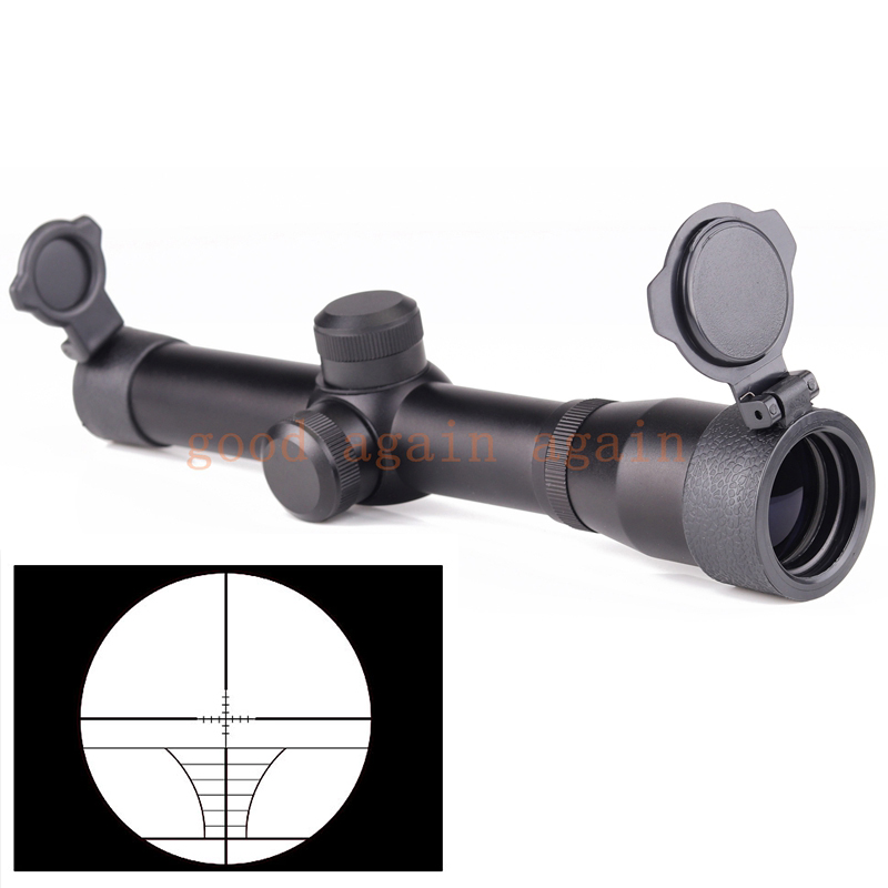 2x20 Long Eye Exit Pupil 350 400mm Rifle Scopes Scout Gun Scope Sight Tactical Relief Hunting Scopes