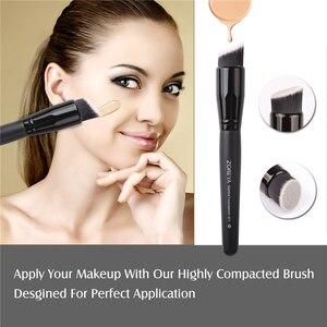 Image 4 - Бренд Zoreya , 15 шт ., черные кисти для макияжа, набор теней для век, пудра, кисть для основы, для макияжа, лучший растущий консилер , косметические инструменты