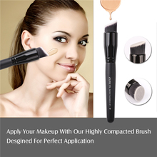 15 pcs Black Makeup Brushes