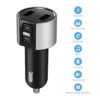 New Hot Blue LED Digital Display Bluetooth FM Transmitter USB Drive Car Auto SD AUX Handsfree