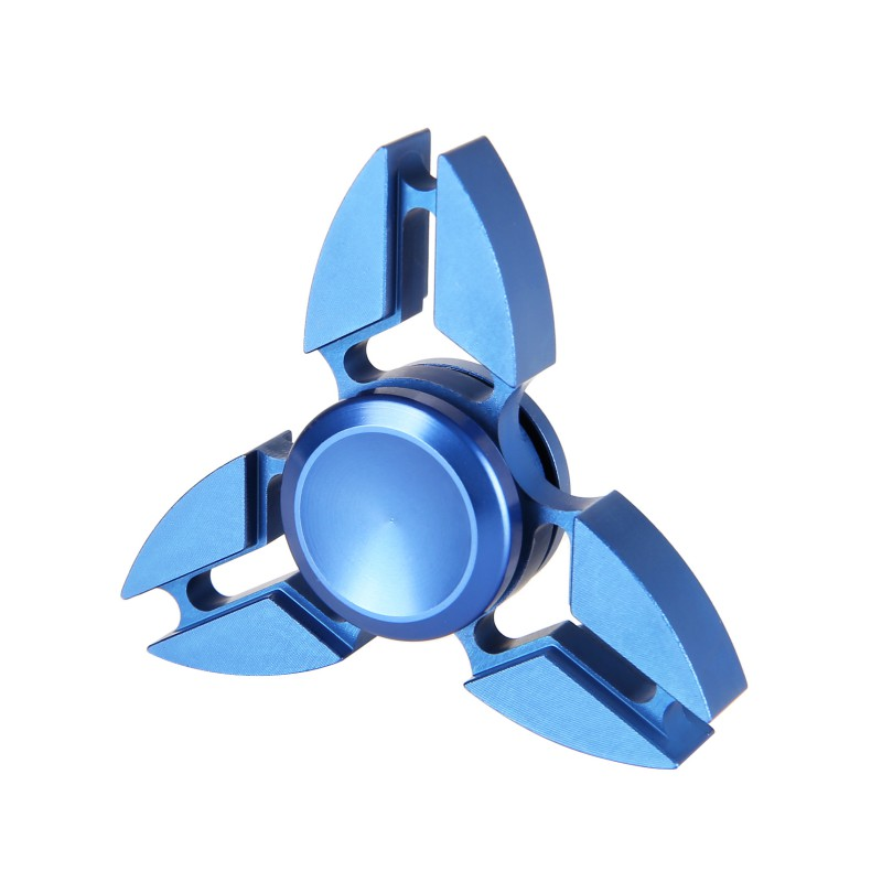 Aluminum Alloy Hollow Out Finger Spinner Fidget EDC Hand Spinner For Autism and ADHD Relief Focus Anxiety Stress Gift Toys
