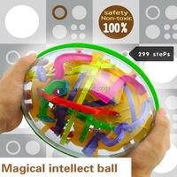 299 schritte 3D magische intellekt maze ball, IQ balance logic fähigkeit perplexus magnetische spielzeug, training tools smart herausforderung spiel