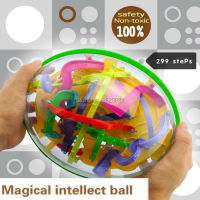 299 Steps 3D Magical Intellect Ball Maze Ball Balance Logic Ability Perplexus Magnetic Toys Training Tools