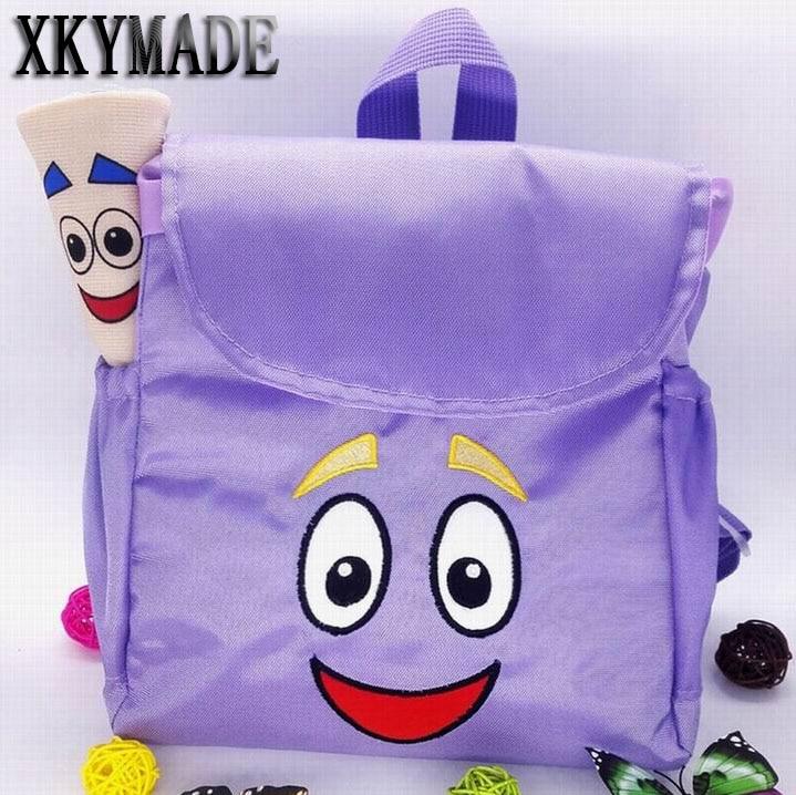 Dora The Explorer Backpack Plush with Map Preschool Rescue Bag FREE SHIP