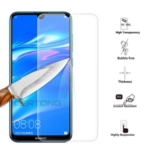 Transparent Protective Glass For Huawei Y6 Y7 Pro 2019 Screen Protector On Prime Protection Cover Y6Pro