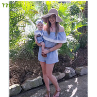 Summer Matching Mother Daughter Clothes Fashion Mom And Daughter Dress Lovely Family Matching Madre E Hija
