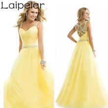 New Long Chiffon Bridesmaid Formal Gown Ball Wedding  Prom Party Dress Laipelar