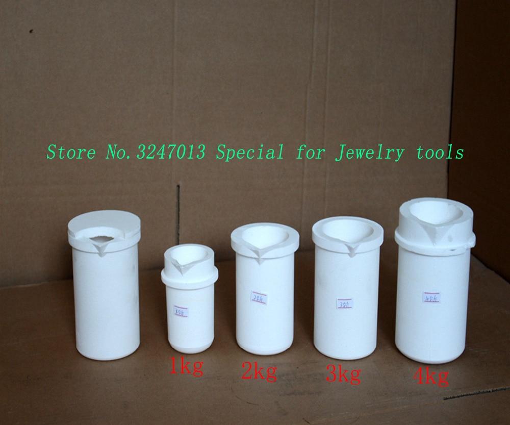 1 кг платины литья тигель кварц Silica плавильном тигле Пот Кастинг Для цвета: золотистый, серебристый
