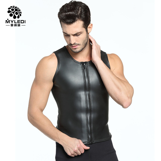 cd7996435059c 2MM Light Skin CR High Elastic Diving Suit Vest Superelastic Light Skin  Submersible Jacket MY085 Size