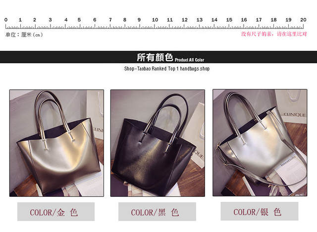 fdd9113b3ca US $15.9 |X Online hot sale women handbag female large tote lady simple big  shopping bag-in Top-Handle Bags from Luggage & Bags on Aliexpress.com | ...