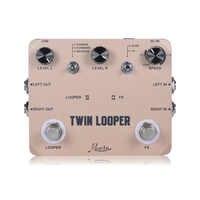 Rowin Twin Looper Station stroik do gitary elektrycznej dla gitarzystów