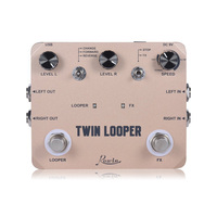 Rowin guitar bass ukulele volin Twin Looper Loop Guitar Pedal Looper Electric Guitar Effect Pedal True Bypass