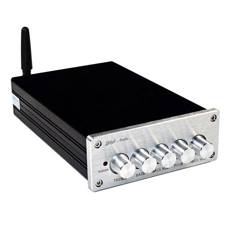 Amplificateur de caisson de basses Tpa3116 2.1 Hifi Bluetooth 5.0 amplificateurs de puissance numériques 50W x 2 + 100W pour ordinateur de cinéma maison haut-parleur