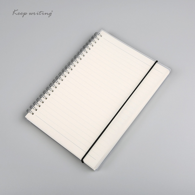 A5 A6 Spiral book coil Notebook To Do Lined DOT Blank Grid Paper Journal Diary Sketchbook
