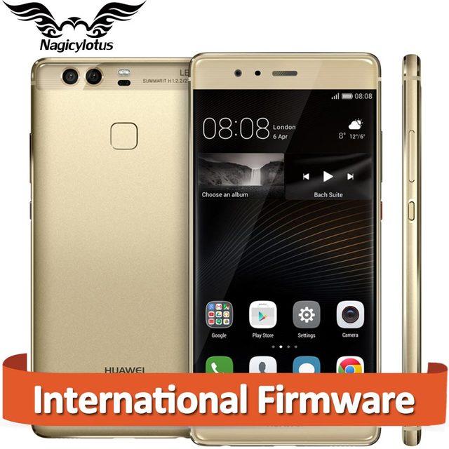 Оригинал Huawei P9 EVA-AL10 4 Г LTE Мобильный Телефон 4 ГБ ОПЕРАТИВНОЙ ПАМЯТИ 64 ГБ ROM 5.2 inch Kirin955 Octa Core Dual Задняя 12MP Камеры отпечатков пальцев