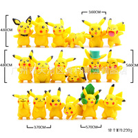 Pikachu 18 Pieces 3cm a Model Pvc Dolls Decoration