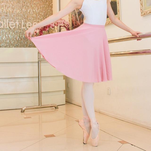 d276a90b52bd Ballet Tutu Skirt Lady Long Skirt Adult Costume Practice Clothes ...