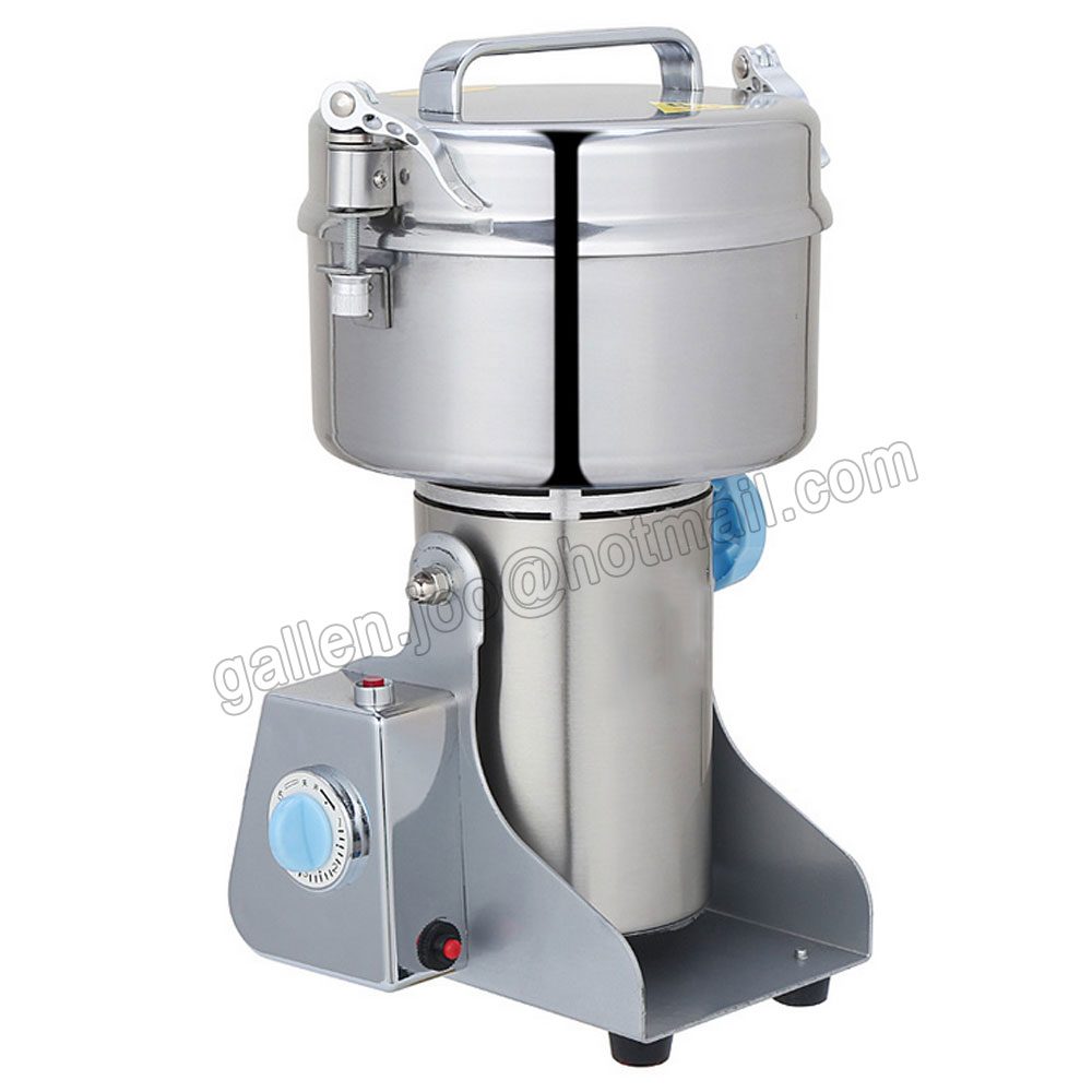 1000G Swing Food grinder milling machine Small superfine powder machine for Coffee soybean, Herb, Sauce, Grain, Crops... 1000g swing food grinder milling machine small superfine powder machine for coffee soybean herb sauce grain crops