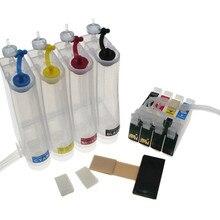Sistema de fonte contínua de tinta t0711 71, ciss para epson stylus d78 d92 d120 dx4000 dx4050 «dx5000» dx6000 dx6050