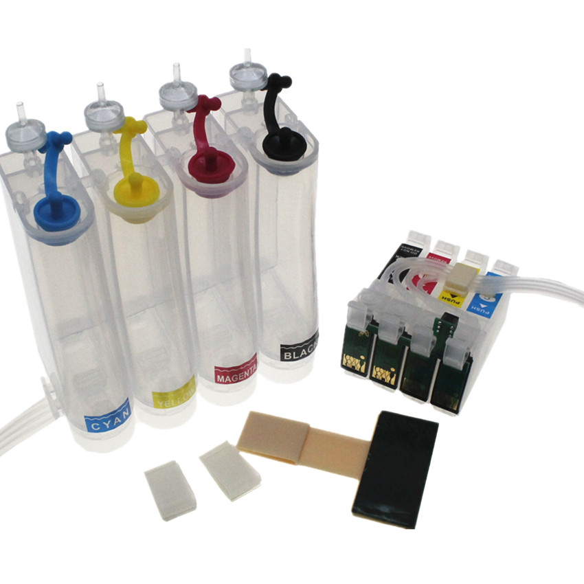 T0711 71 Continuous Ink Supply System CISS for Epson Stylus D78 D92 D120 DX4000 DX4050 DX4400 DX4450 DX5000 DX5050 DX6000 DX6050 ximo 10sets 0711 empty refillable ink cartridge for epson d78 d92 dx4000 dx4050 dx4450 dx4400 dx5000 dx5050 dx6000 dx6050