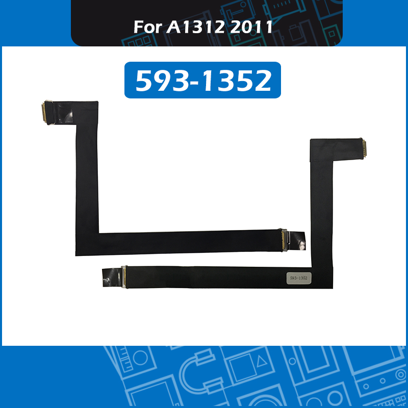 New LCD LVDS Display Cable 593 1352 593 1352A for iMac 27 A1312 LED Screen Flex