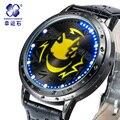 Cavaleiro sem cabeça relógios Marca Xingyunshi Digital Relógio Para Homens Relogio Relógio dos homens Vestido de Negócios relógio À Prova D' Água Caixa Original