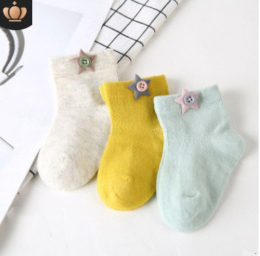 PUDCOCO 1Pair Cute Summer Crystal Socks Kids Baby Girls Breathable Soft Cotton Socks Fruit Printed Ultra thin Frilly Ankle Socks in Foot Socks from Mother Kids