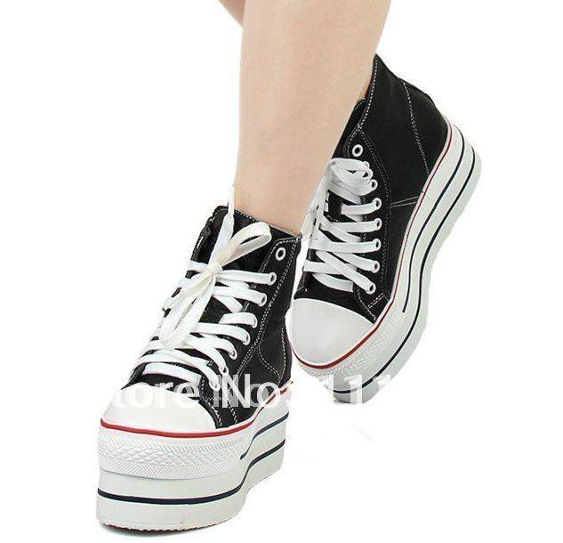 Special Offer !! Cheap women platform shoes Canvas Shoes Sneakers