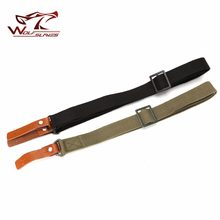 1000D Nylon 134cm Tactical AK Gun Adjustable Airsoft Rifle Heavy Duty Carrying Strap Shoulder System Military Outdoor Hunting(China)