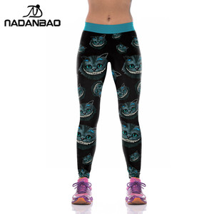 Image 5 - NADANBAO Halloween Jack Skellington Leggings Women The Nightmare Before Christmas Plus Size Pants Digital Print Fitness Leggins