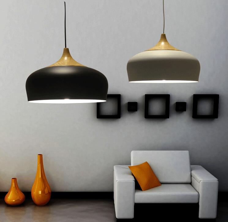 Moderne salle à manger Pendant Lights calendrier bois lampe en ...