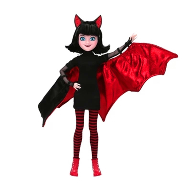 Figurals Bat Of Mavis Series Movies Hotel Transylvania 3 Mavis Batgirl PVC Action Figure Collection Model Doll L2620Figurals Bat Of Mavis Series Movies Hotel Transylvania 3 Mavis Batgirl PVC Action Figure Collection Model Doll L2620