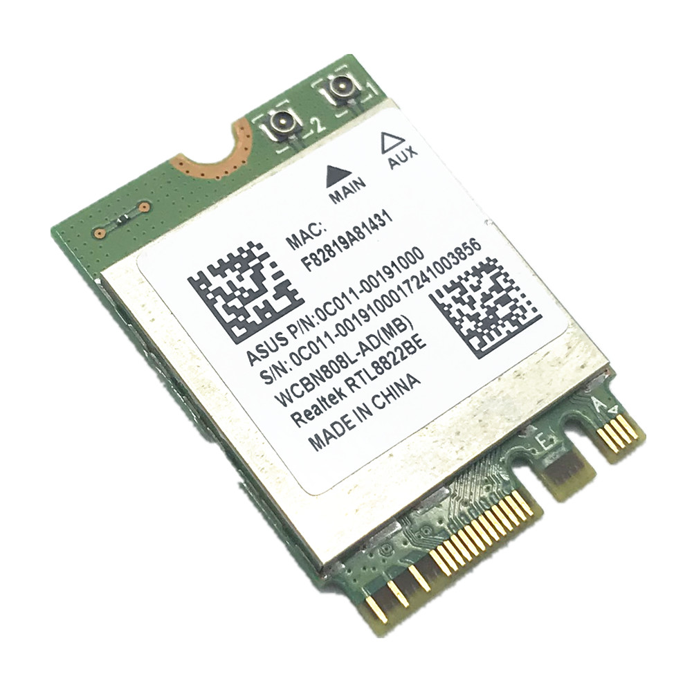 Realtek RTL8822BE 802.11AC 2,4G/5 ГГц WiFi Bluetooth 4,1 NGFF беспроводной адаптер M.2 карта