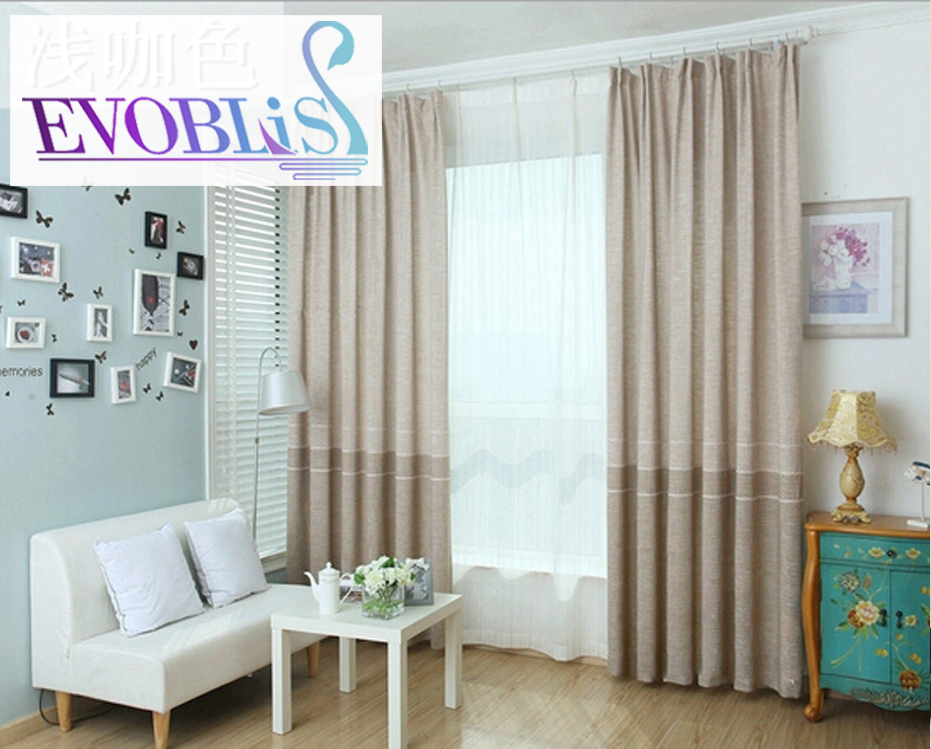 American country minimalist flax chenille embroidered blackout curtains for  bedroom modern living room curtain luxury curtains. Online Get Cheap Modern Country Curtains  Aliexpress com   Alibaba