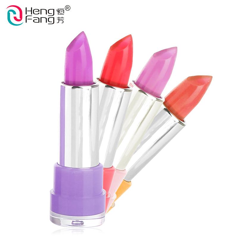 Temperature-changed Lipstick Lip Balm 7 Colors Lipbalm Nutritious Lips 3.5g Makeup Brand HengFang #H9223-H9266 11