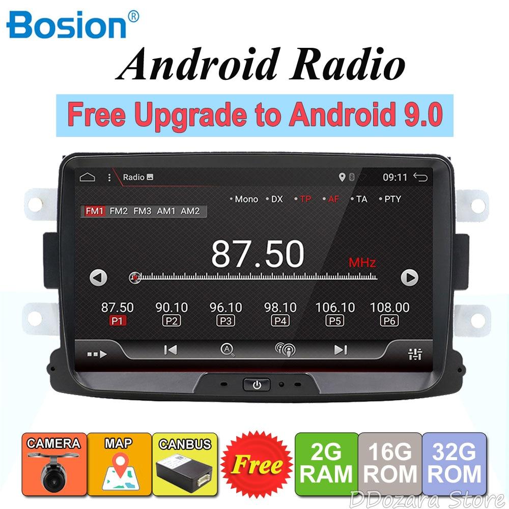 Android 8.1 autoradio 1 din For Duster/Dacia/Sandero/Logan/Captur/Lada/Xray car multimedia player camera cassette tape recorder