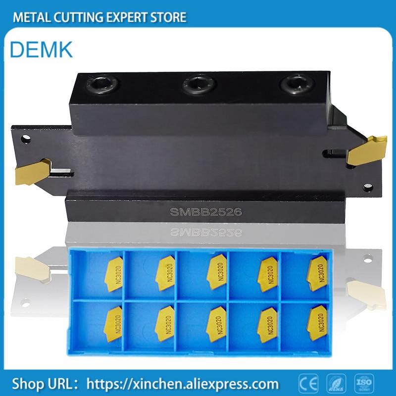 Knife 20mm SPB26 3 1pcs+SMBB2026 1pcs+KORLOY SP300 NC3020 10pcs for machine tools Mechanical lathe Cutting, lengthening