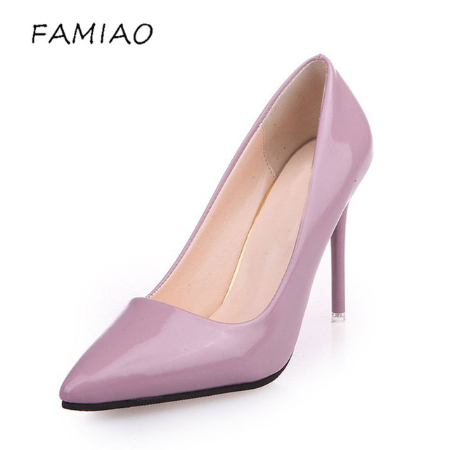 High Heels Shoes Pumps 10.5cm Black Stilettos Heels Sexy Pointed Toe White Pumps Nude Heels for Women Shoes Ladies 3