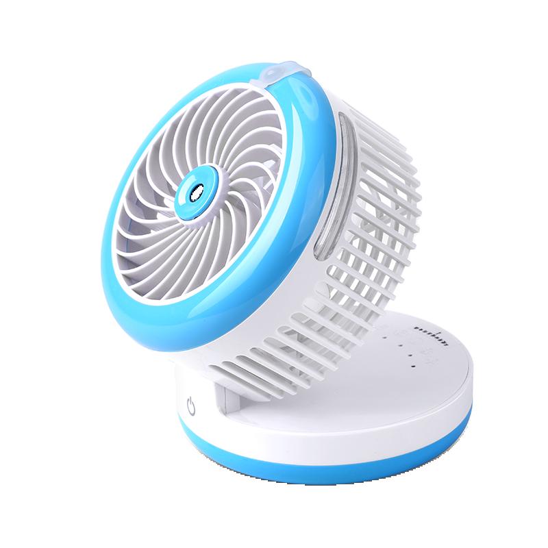 Spray Refrigeration Air Conditioner Usb Small Fan Mini Portable Handheld Rechargeable Treasure Spray Water Fan 4 3 inch air conditioner cleaning spray av handheld endoscope