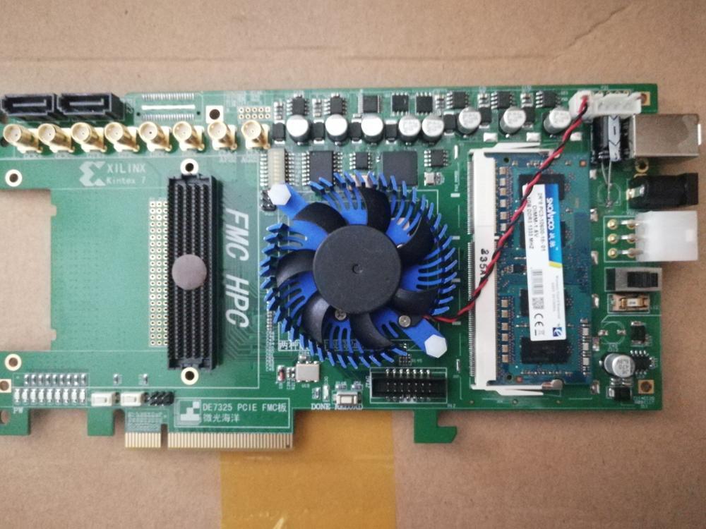 For XILINX KINTEX-7 XC7K325T PCIE FMC USB3.0 DDR3-SODIMM development board