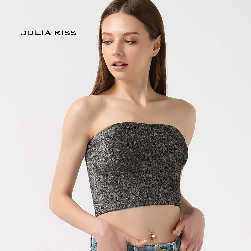 733d5709a18b87 Detail Feedback Questions about Women Sparkle Tube Crop Tops Bling ...