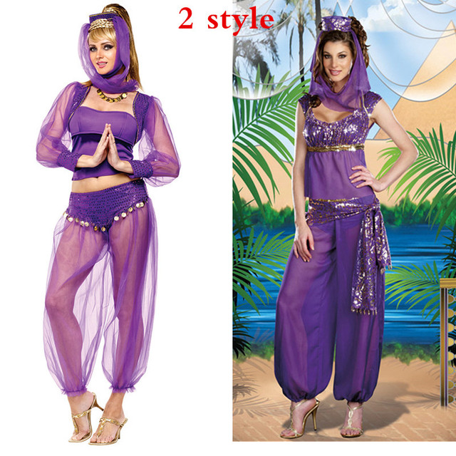 2018 New Sexy Belly Dancer Arabian Princess Costume sexy masquerade costume Arabian Princess Jasmine Halloween Costume  sc 1 st  AliExpress.com & 2018 New Sexy Belly Dancer Arabian Princess Costume sexy masquerade ...