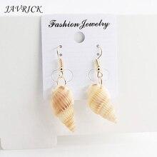 Ladies shell Earrings Handmade Natural Conch Shell Ear Hook Beach Fashion Jewelry Gift