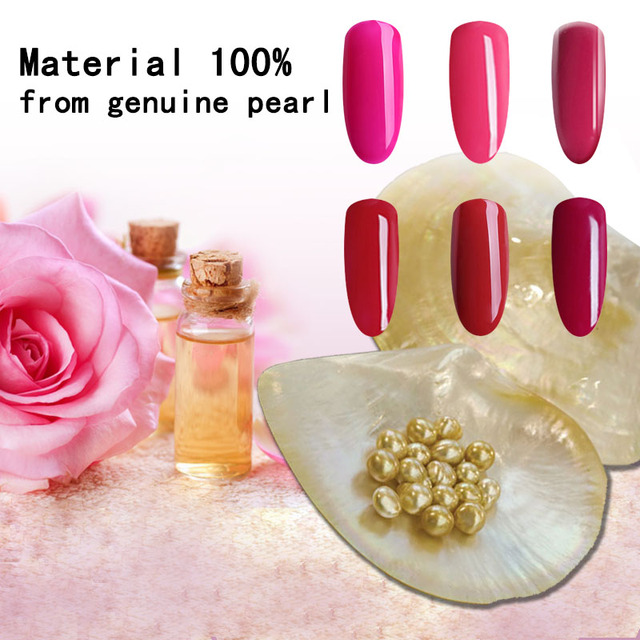 TREEINSIDE natural pure Healthy brand-Rose extracted nail gel polish need uv led lamp to cure green safe healthy brand color