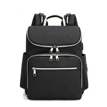 лучшая цена Oxford Bummy Bag Shoulder Multifunctional Large Capacity Baby Backpack with Diaper Bottle bolsa mochila maternidade maternal